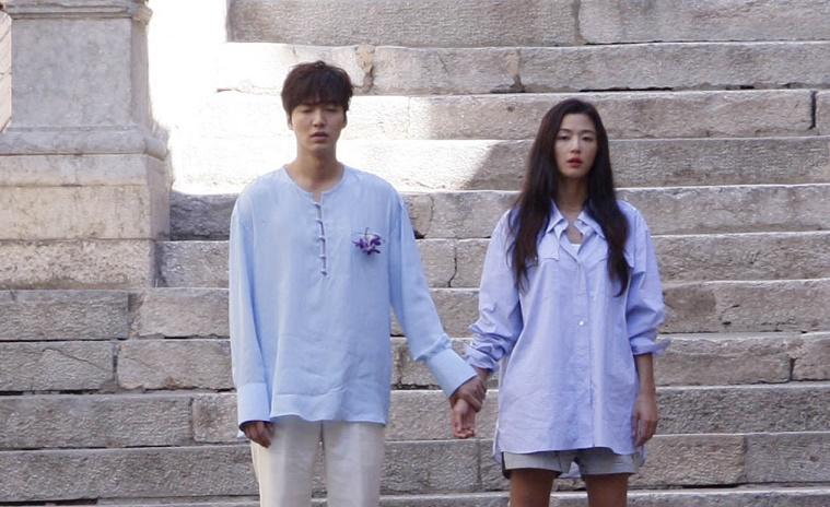 """Lộ hậu trường hành động của Lee Min Ho và """"máy bay bà già"""" - 1"""