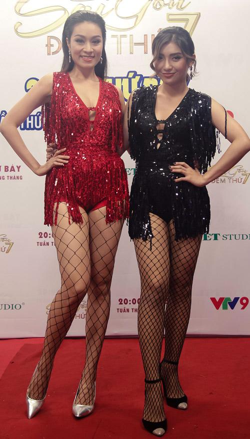 Đọ sắc 2 cô cháu gái chân dài siêu gợi cảm của Lam Trường - 1