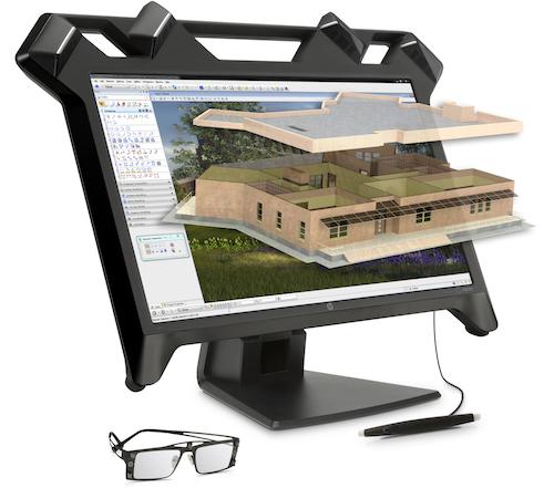 HP giới thiệu màn hình thực tế ảo đầu tiên - 1