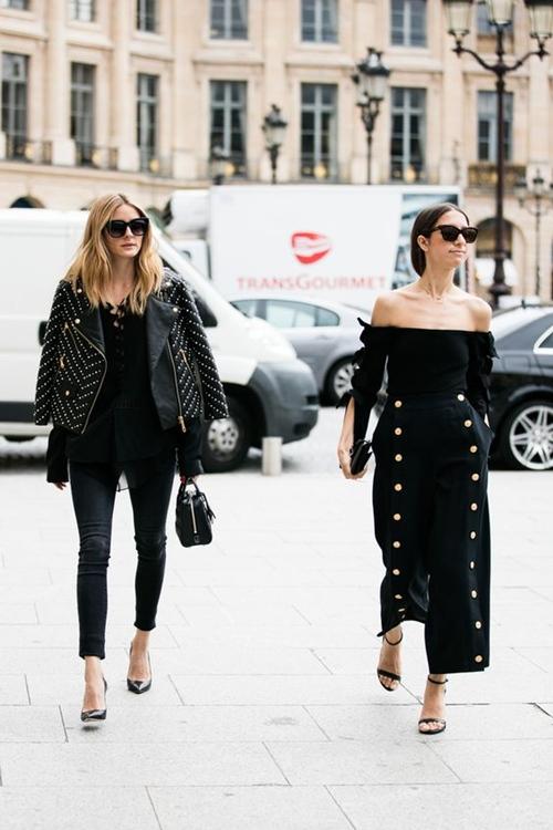 Đây là cách bạn mặc váy đen đi làm cả tuần nếu thích - 1