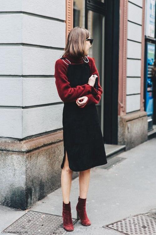 Đây là cách bạn mặc váy đen đi làm cả tuần nếu thích - 3