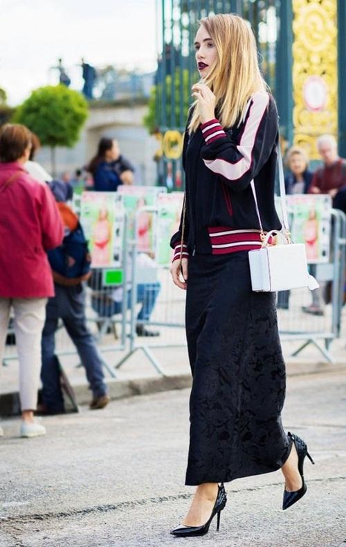 Đây là cách bạn mặc váy đen đi làm cả tuần nếu thích - 8