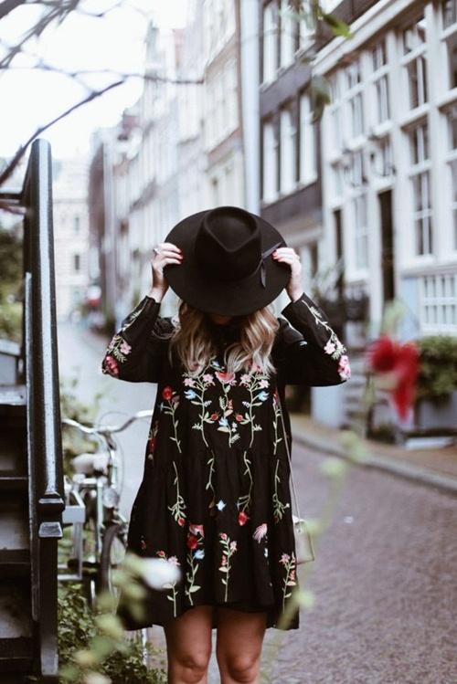 Đây là cách bạn mặc váy đen đi làm cả tuần nếu thích - 13