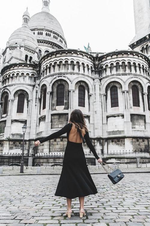 Đây là cách bạn mặc váy đen đi làm cả tuần nếu thích - 11
