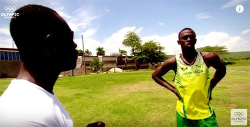 Hồi ức Usain Bolt: Giấc mơ của cậu học sinh tăng động - 2