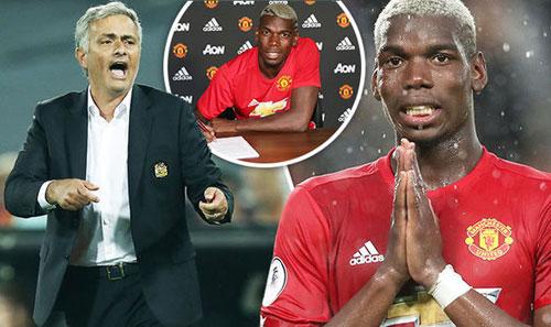 MU: Pogba chơi tồi vẫn được Mourinho bênh vực - 1