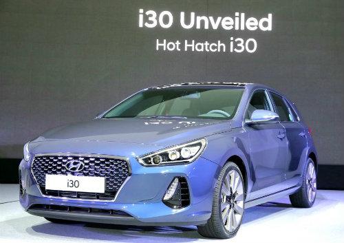 Hyundai i30 2017chính thức lộ diện, đối đầu Ford Focus - 3