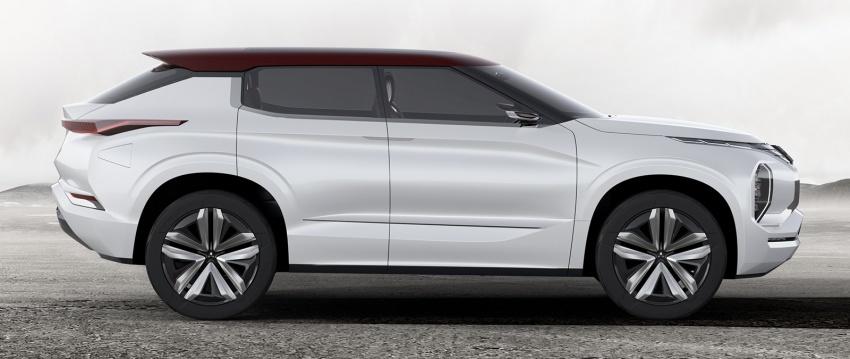 Mitsubishi GT-PHEV Concept - SUV hạng sang lộ diện - 3