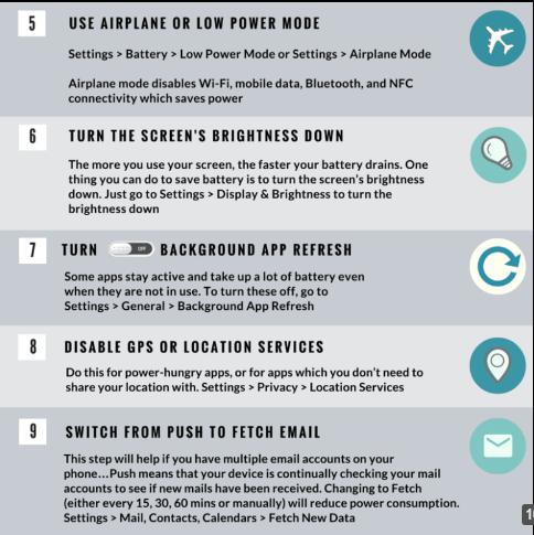 Bày cho bạn cách làm tăng tuổi thọ pin iPhone - 2
