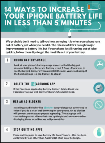 Bày cho bạn cách làm tăng tuổi thọ pin iPhone - 1