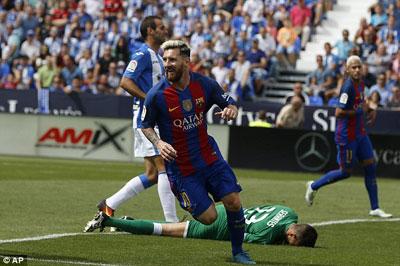 Chi tiết Leganes - Barcelona: Siêu phẩm đá phạt (KT) - 3