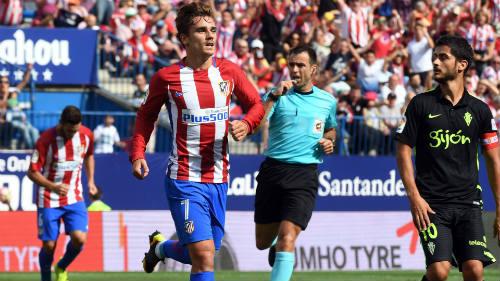 Atletico Madrid - Sporting Gijon: Bắn phá dữ dội - 1
