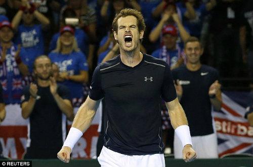 Anh em Murray giúp VQ Anh tạm thoát hiểm ở Davis Cup - 3