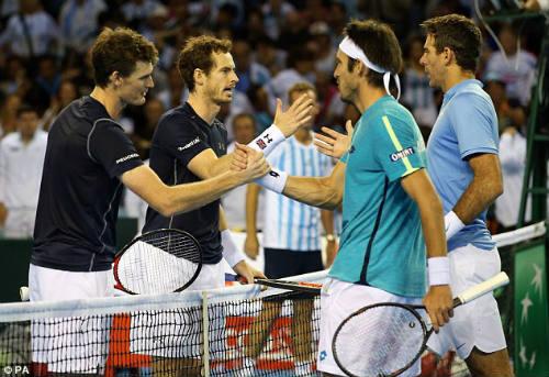 Anh em Murray giúp VQ Anh tạm thoát hiểm ở Davis Cup - 1