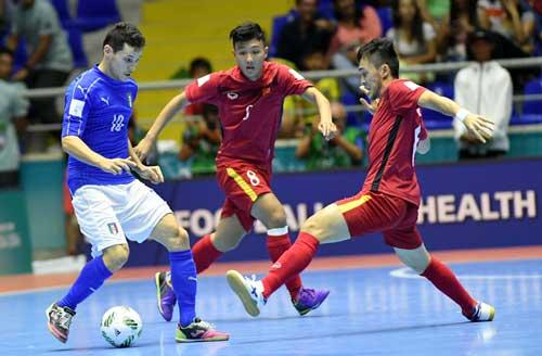 Futsal Việt Nam – Italia: Tinh thần quả cảm - 1