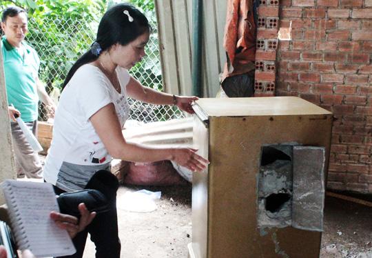 Lâm Đồng: Liên tiếp các vụ trộm đục két sắt lấy tiền - 1