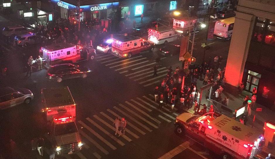 Mỹ: Nổ lớn rung chuyển New York, 29 người bị thương - 1