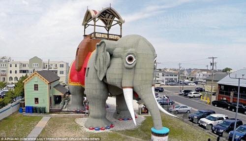 Những ngôi nhà hình động vật kỳ dị nhất thế giới - 1
