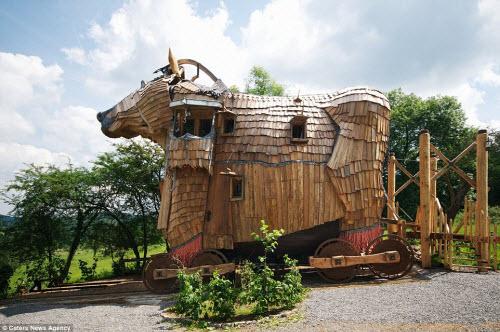 Những ngôi nhà hình động vật kỳ dị nhất thế giới - 2
