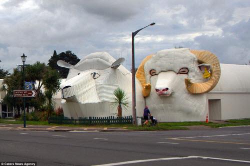 Những ngôi nhà hình động vật kỳ dị nhất thế giới - 4
