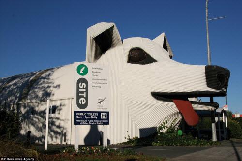 Những ngôi nhà hình động vật kỳ dị nhất thế giới - 7