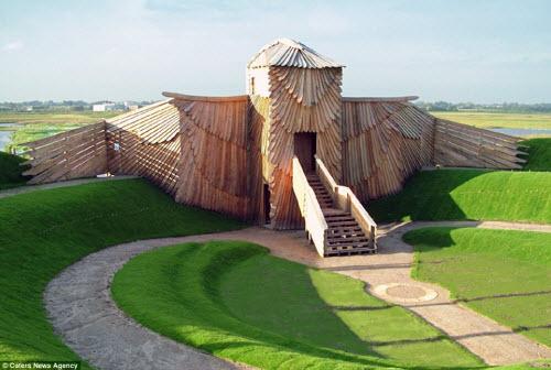 Những ngôi nhà hình động vật kỳ dị nhất thế giới - 9