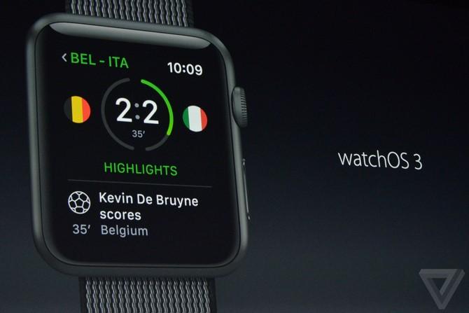 WatchOS 3 giúp Apple Watch nhanh hơn, kèm với các tính năng mới - 1