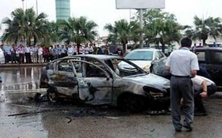 Nguyên nhân tài xế tử vong vụ cháy xe ở sân bay Nội Bài - 1
