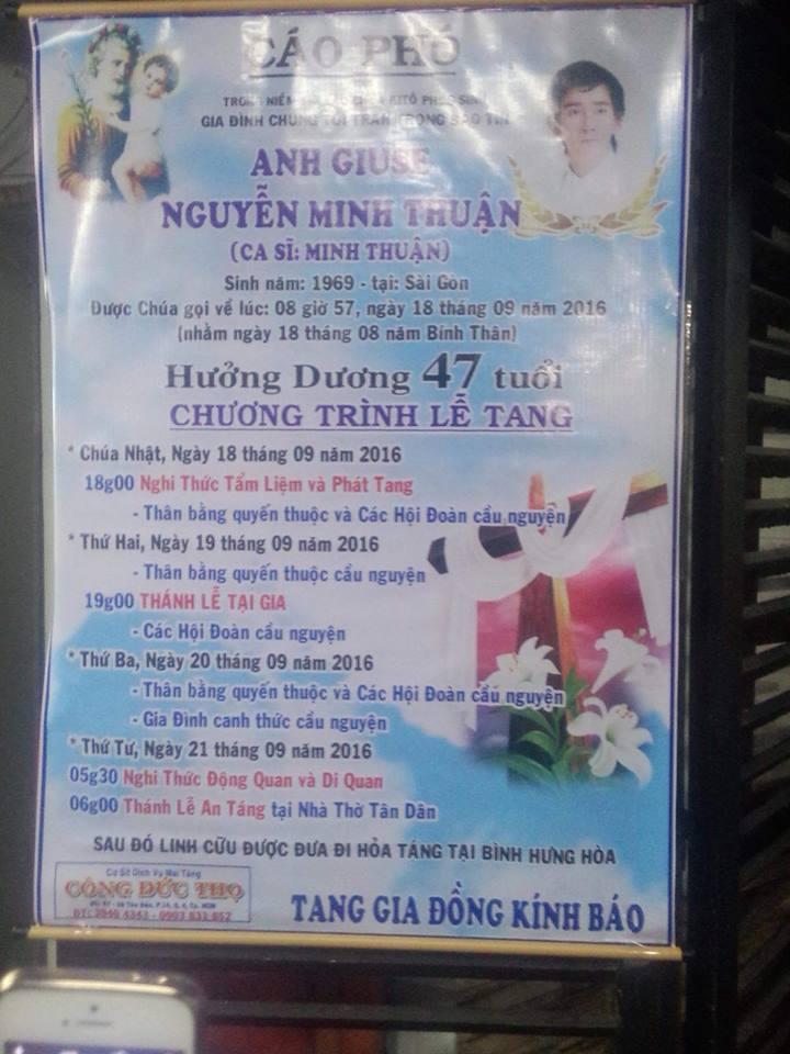 Linh cữu ca sĩ Minh Thuận về nhà giữa trời mưa như trút - 2