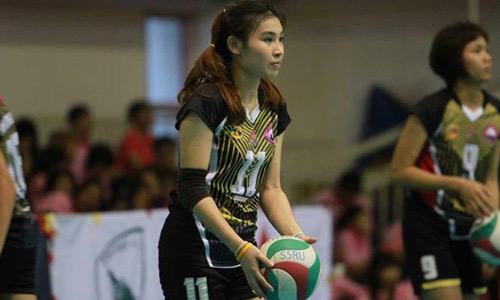 Bóng chuyền nữ: Linh Chi đua sắc bên 4 mỹ nhân - 9