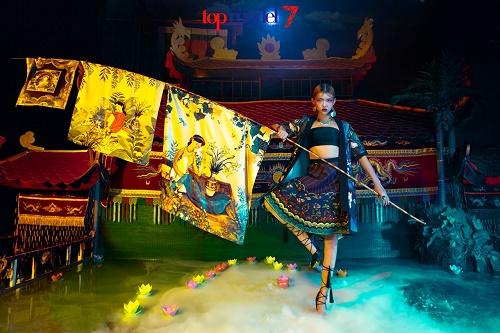 Top 8 Next Top đánh ghen, cãi lộn với Angela Phương Trinh - 9