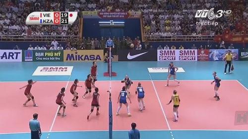 Việt Nam - Kazakhstan: Cống hiến đến cùng (bóng chuyền nữ châu Á) - 1