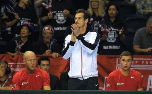 Murray thắng, VQ Anh vẫn thành cựu vương Davis Cup - 1