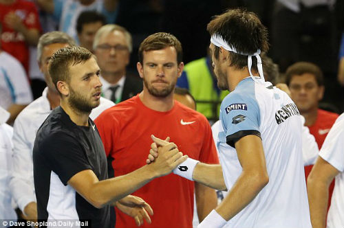 Murray thắng, VQ Anh vẫn thành cựu vương Davis Cup - 2