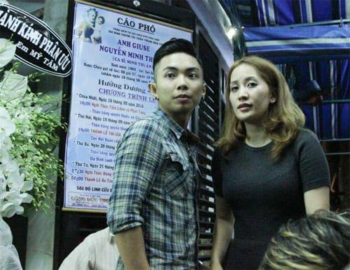 Sao Việt nấc nghẹn đến viếng ca sĩ Minh Thuận trong đêm - 2