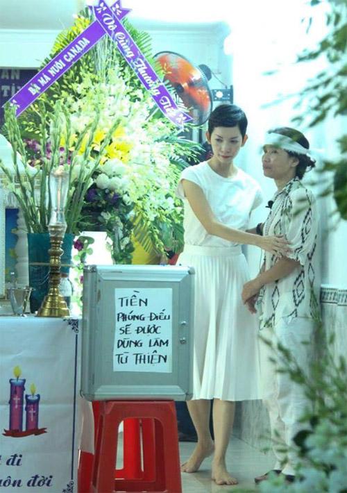 Sao Việt nấc nghẹn đến viếng ca sĩ Minh Thuận trong đêm - 4