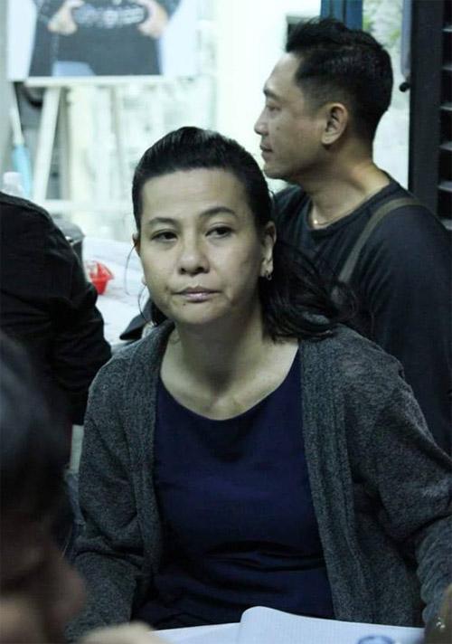 Sao Việt nấc nghẹn đến viếng ca sĩ Minh Thuận trong đêm - 8
