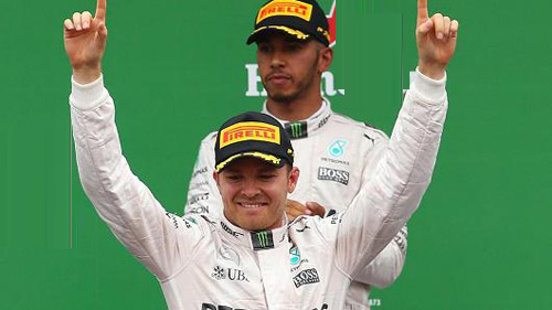 BXH F1 - Singapore GP: Rosberg soán ngôi Hamilton - 1