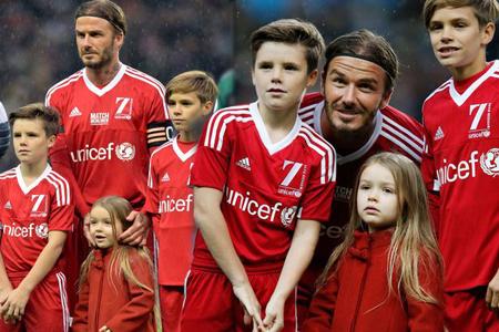 Gia đình như gánh xiếc rong của nhà David Beckham - 1