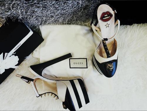 Thú vui mua sắm hàng hiệu chất ngất của Á hậu Huyền My - 13