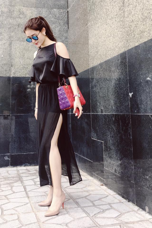 Thú vui mua sắm hàng hiệu chất ngất của Á hậu Huyền My - 23