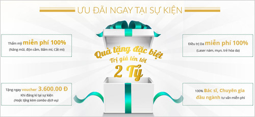 Nhận quà tặng hấp dẫn khi dự khai trương chi nhánh Đông Á Beauty - 3