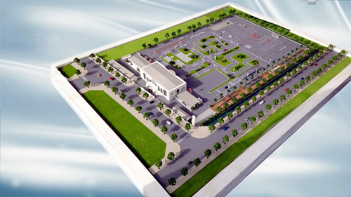 Sẽ có trung tâm đào tạo Lái xe an toàn hiện đại nhất Việt Nam trong năm 2017 - 2
