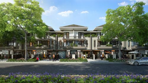 Biệt thự phố vườn Nam Sài Gòn thu hút người mua để ở - 1