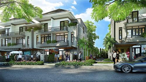 Biệt thự phố vườn Nam Sài Gòn thu hút người mua để ở - 3