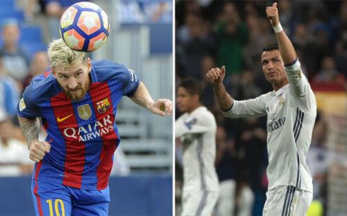 Liga: Ghi bàn sòn sòn, Messi đã vượt Ronaldo-Real - 1