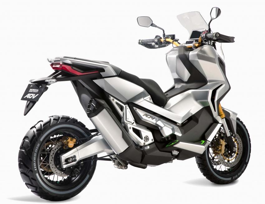 2017 Honda X-ADV Adventure scooter đi vào sản xuất - 4