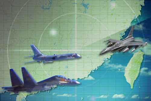 Chiến đấu cơ Mỹ-Trung vờn nhau nguy hiểm trên không - 1