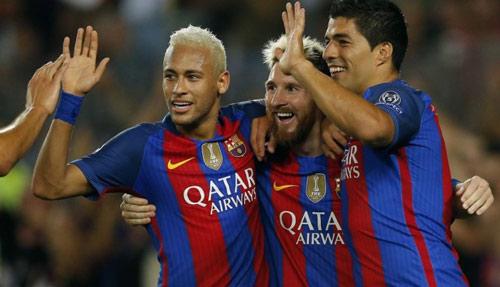 Barca: 17 bàn/7 trận, bộ ba MSN chờ vượt mọi giới hạn - 1