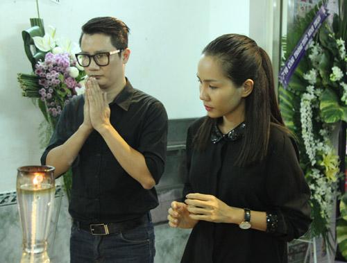 Sao nữ giàn giụa nước mắt đến viếng Minh Thuận - 6